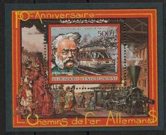 Centrafricaine - 1986 - Bloc Feuillet BF N°Yv. 88 - Locomotive - Neuf Luxe ** / MNH / Postfrisch - República Centroafricana