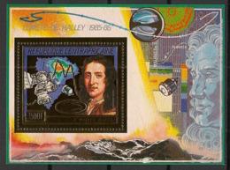 Centrafricaine - 1986 - Bloc N°Mi. 400 - Comète De Halley OR - Neuf Luxe ** / MNH / Postfrisch - Afrika