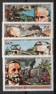 Centrafricaine - 1986 - N°Yv. 757 à 760 - Locomotives - Neuf Luxe ** / MNH / Postfrisch - Zentralafrik. Republik