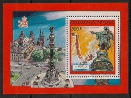 Centrafricaine - 1987 - Bloc Feuillet BF N°Yv. 90 - Olympics Barcelona 92 - Neuf Luxe ** / MNH / Postfrisch - Zentralafrik. Republik