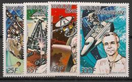 Centrafricaine - 1987 - N°Yv. 762A à 762D - Espace 87 - Neuf Luxe ** / MNH / Postfrisch - Zentralafrik. Republik