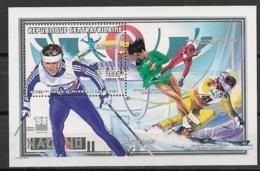 Centrafricaine - 1998 - Bloc Feuillet BF N°Yv. 150 - Nagano / Olympics - Neuf Luxe ** / MNH / Postfrisch - Zentralafrik. Republik