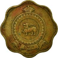 Monnaie, Ceylon, Elizabeth II, 10 Cents, 1971, TB+, Nickel-brass, KM:130 - Sri Lanka