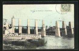 CPA Barrage De Tuilières, Côté Ouest - Unclassified