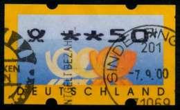 BRD ATM 1999 Nr 3-2-0050 Gestempelt X970826 - BRD