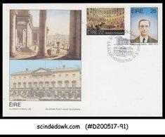 IRELAND - 1982 Grattan's Parliament & Birth Cent. Of Eamon De Valera - 2V - FDC - FDC