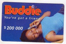 ZIMBABWE PREPAYEE 200 000$ BUDDIE ECONET - Zimbabwe