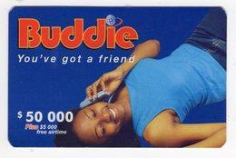 ZIMBABWE PREPAYEE 50 000$ BUDDIE ECONET - Zimbabwe