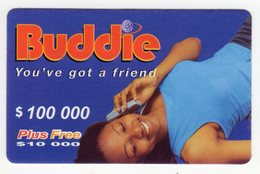 ZIMBABWE PREPAYEE 100 000$ BUDDIE ECONET - Zimbabwe