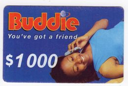 ZIMBABWE PREPAYEE 1 000$ BUDDIE ECONET - Zimbabwe