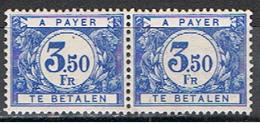 BELGIQUE 381 // YVERT 48 + 48 TAXE // 1922-28   NEUF - Impuestos