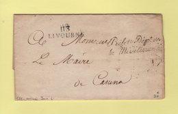 Livourne -113 - Prefet Departement De La Mediterranee - Departement Conquis - Sans Correspondance - 1792-1815: Conquered Departments