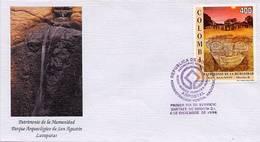 Lote 2050F, Colombia, 1996, SPD-FDC, Patrimonio De La Humanidad, San Agustin, World Heritage - Colombia
