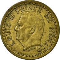Monnaie, Monaco, Franc, Undated (1943), Paris, TB+, Cupro-Aluminium, Gadoury:132 - Monaco