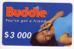 ZIMBABWE PREPAYEE 3 000$ BUDDIE ECONET - Zimbabwe