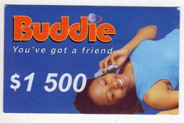 ZIMBABWE PREPAYEE 1 500$ BUDDIE ECONET - Zimbabwe