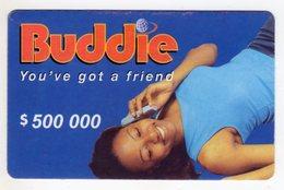 ZIMBABWE PREPAYEE 500 000$ BUDDIE ECONET - Zimbabwe