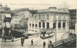 """CPA FRANCE 88 """"Epinal, Le Pont Des Quatre Nations"""" - Epinal"""