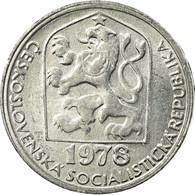 Monnaie, Tchécoslovaquie, 5 Haleru, 1978, TTB, Aluminium, KM:86 - Tchécoslovaquie
