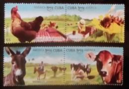 7592  Bees - Hens - Cows - 2018 - MNH - 2,25 - Abeilles