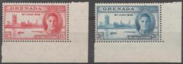 GRENADA - 1946 Peace. Matching Corner Pair. MNH ** - Grenada (...-1974)