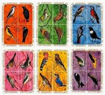 BURUNDI, Birds, Yv 395-418, Av 154-77, Used, F/VF, Cat. € 16 - 1962-69: Neufs