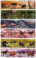 BURUNDI, Animals, Yv 434-57, Av 191-214, Used, F/VF, Cat. € 13 - 1962-69: Neufs