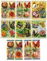 BURUNDI, Butterflies, Yv 553-76, Av 289-312, Used, F/VF, Cat. € 11 - 1962-69: Neufs