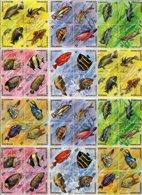 BURUNDI, Fish, Yv 588-611, Av 330-53, Used, F/VF, Cat. € 12 - 1962-69: Neufs