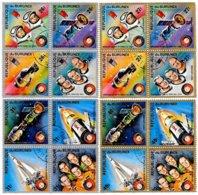BURUNDI, Space, Yv 637-44, Av 360-67, Used, F/VF, Cat. € 13 - 1962-69: Neufs