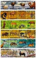 BURUNDI, Animals, Yv 645-68, Av 368-91, Used, F/VF, Cat. € 14 - 1962-69: Neufs