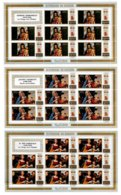 BURUNDI, Paintings, Yv Av 117-19, ** MNH, F/VF, Cat. € 40 - 1962-69: Neufs