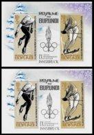 BURUNDI, Olympics, Yv Bk 3-3A, ** MNH, F/VF, Cat. € 35 - 1962-69: Neufs