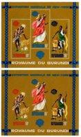 BURUNDI, Philatelic Exhibitions, Yv Bk 4-4A, ** MNH, F/VF, Cat. € 12 - 1962-69: Neufs