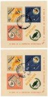 BURUNDI, International Cooperation Year, Yv Bk 9-9A, Used, F/VF, Cat. € 10 - 1962-69: Neufs