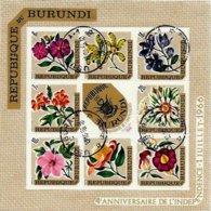 BURUNDI, Flowers, Yv Bk 17, Used, F/VF, Cat. € 13 - 1962-69: Neufs