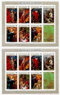 BURUNDI, Paintings, Yv Bk 38-38A, ** MNH, F/VF, Cat. € 8 - Burundi