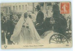 MAROC MAROKKO MOROCCO MARRUECOS  CPA  LE SULTAN MOULAI HAFID A VICHY - Marrakech