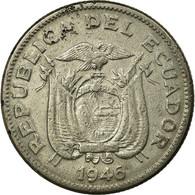 Monnaie, Équateur, Sucre, Un, 1946, TTB, Nickel, KM:78.2 - Ecuador