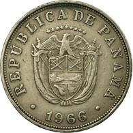 Monnaie, Panama, 5 Centesimos, 1966, TTB, Copper-nickel, KM:23.2 - Panama