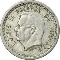 Monnaie, Monaco, Louis II, Franc, Undated (1943), Paris, TTB, Aluminium - 1922-1949 Louis II