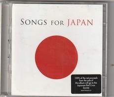 Cd   2 CD SONGS FOR JAPAN  Compil Pop  Etat: TTB Port 140 GR - Compilations