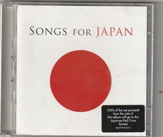 Cd   2 CD SONGS FOR JAPAN  Compil Pop  Etat: TTB Port 140 GR - Compilaties