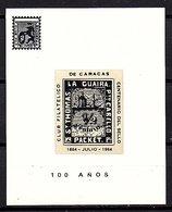 St. Thomas La Guaira Cabella Block MNH (55) - Venezuela
