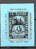 St. Thomas La Guaira Cabella Block MNH (55a) - Venezuela