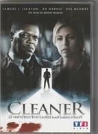 DVD  Cleaner  Avec Samuel L Jackson   Etat: TTB Port 110 Gr Ou 30 Gr - Policiers