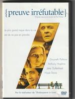 DVD  Preuve Irréfutable Avec Anthony Hopkins   Etat: TTB Port 110 Gr Ou 30 Gr - Politie & Thriller