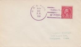 USA: 1931 U.S.S. Pope, Nankin, China To Bridgeport, Conn - United States