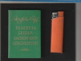 Sehr Kleines Buch WILHELM BUSCH Es Gibt Ja Leider Und Geschichten  : Année ?  Poids 60  Gr - Livres, BD, Revues
