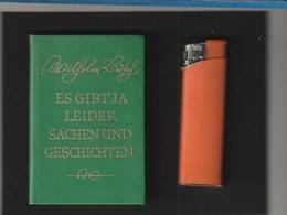 Sehr Kleines Buch WILHELM BUSCH Es Gibt Ja Leider Und Geschichten  : Année ?  édit : FREIBURG Poids 60  Gr - Livres, BD, Revues